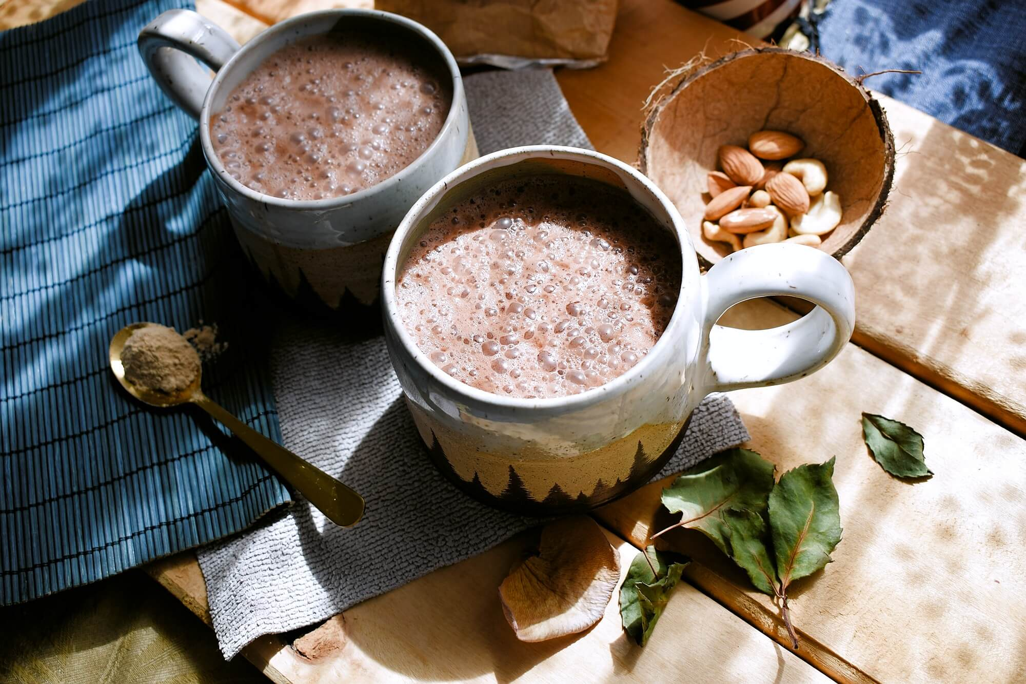 Caramel flavored Cocoa with Maca, sweetened with dates [vegan]