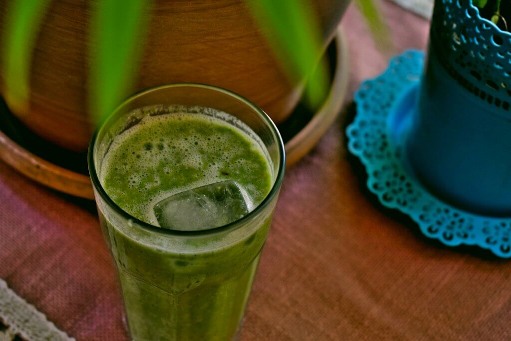 Green Smoothie with Matcha